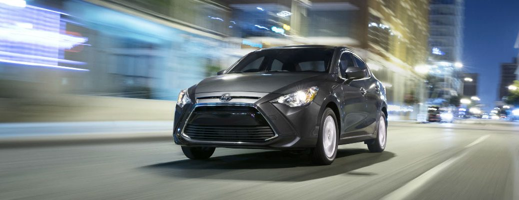 2018 Toyota Yaris iA Front View of Gray Exterior