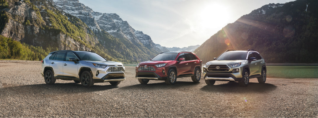 2019 Toyota RAV4 safety features and technology systems
