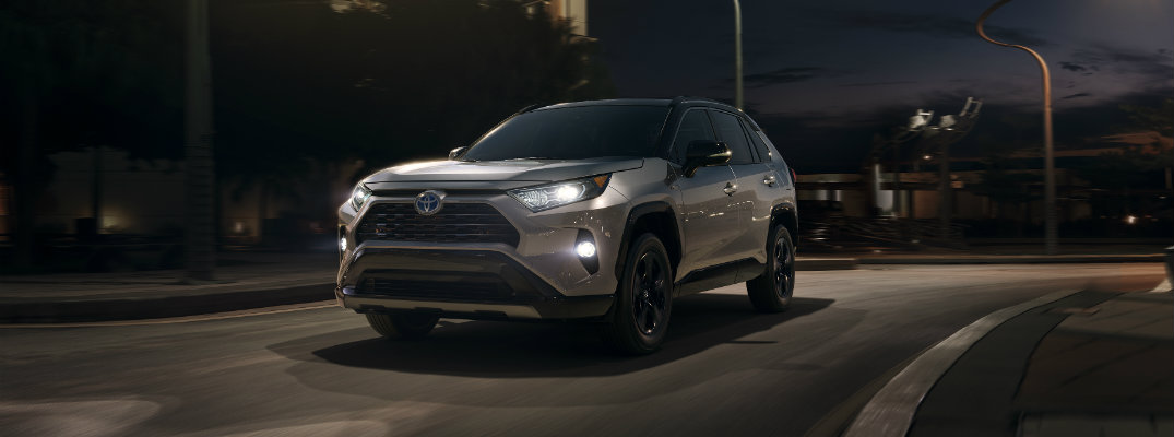 What is Lane Tracing Assist in the 2019 Toyota RAV4?