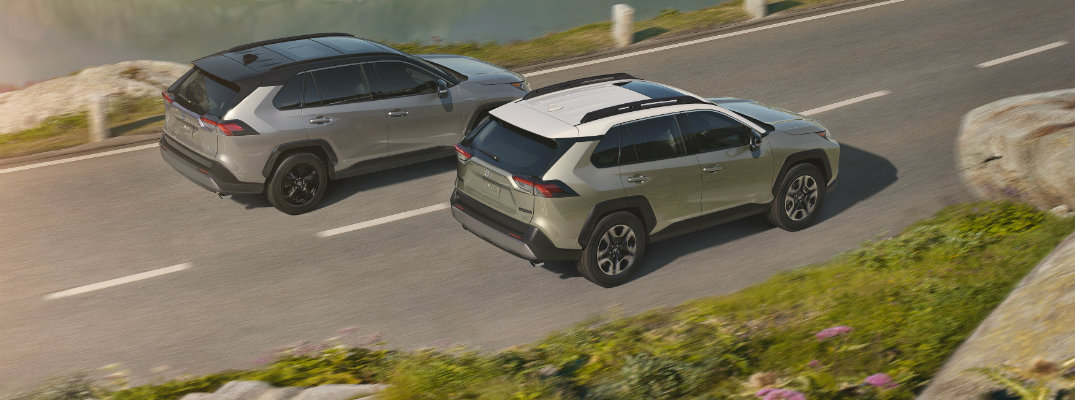 What is Road Sign Assist in the 2019 Toyota RAV4?