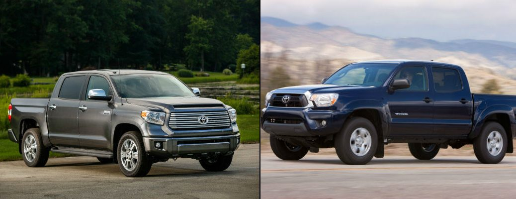 What is the Difference Between the Toyota Tundra and Tacoma