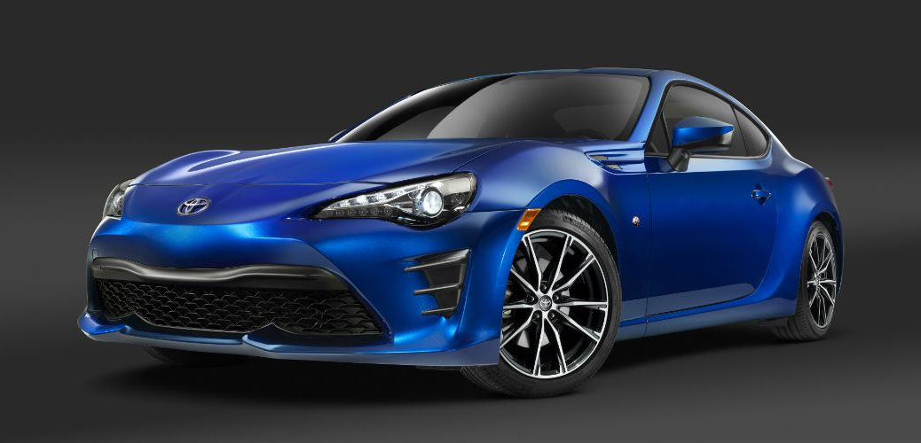 release date for the 2017 Toyota 86