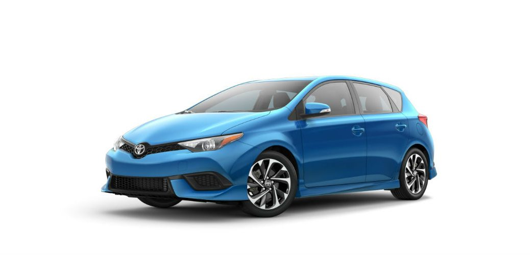 Release date for the 2017 Toyota Corolla iM