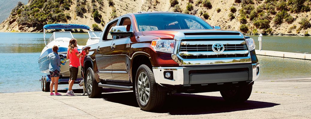 Features and Design of the 2017 Toyota Tundra Towing