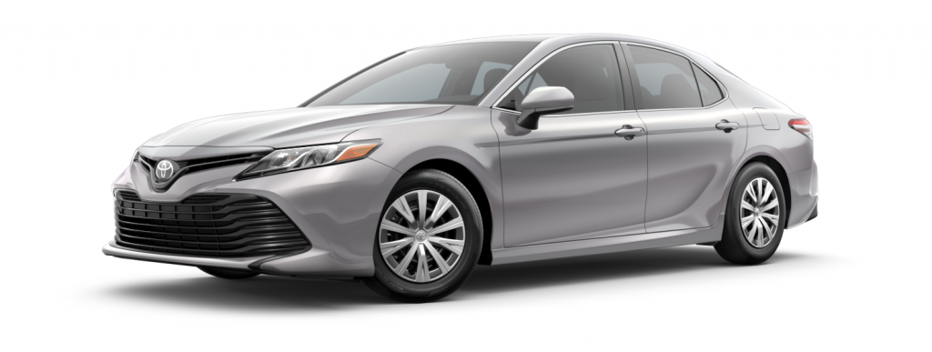 2018 Toyota Camry in celestial silver