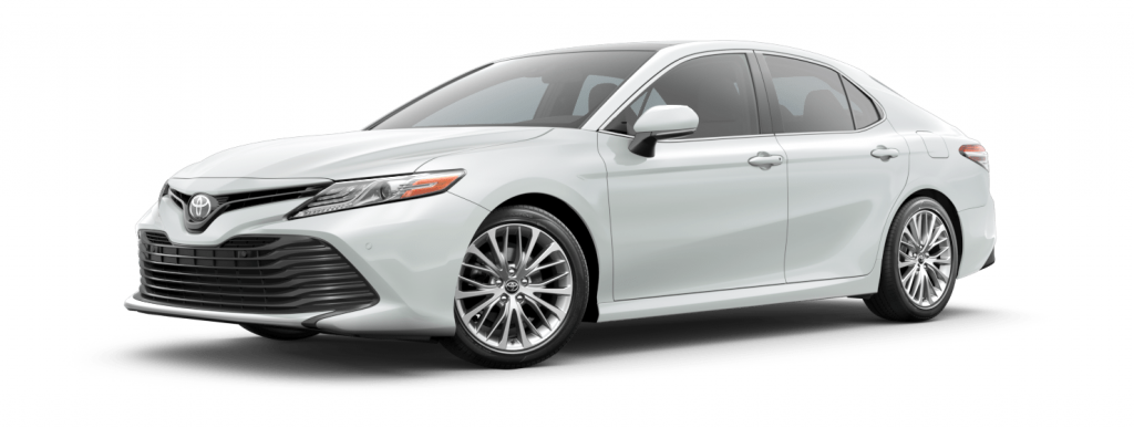 2018 Toyota Camry in windchill pearl
