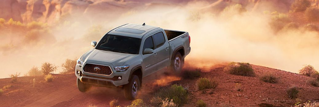 2018 Toyota Tacoma Off-Road Exterior Front Driver Side