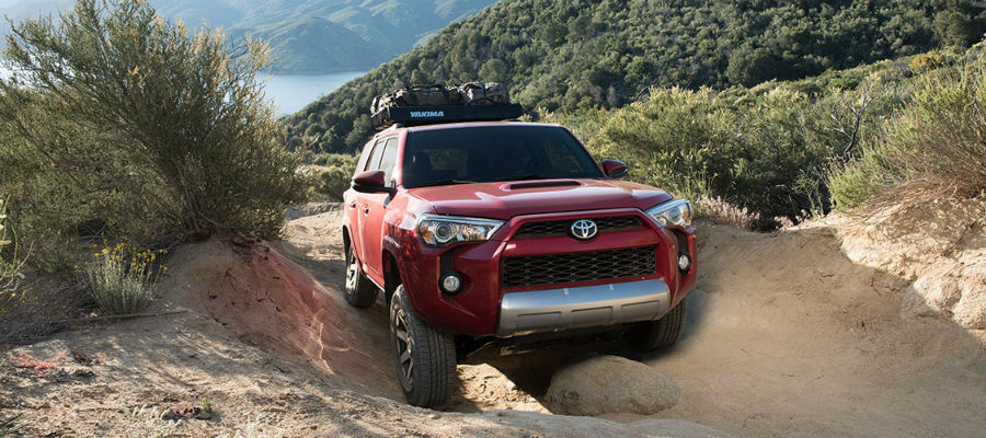 2018 Toyota 4Runner Exterior Passenger Side Front Crawling Off Road