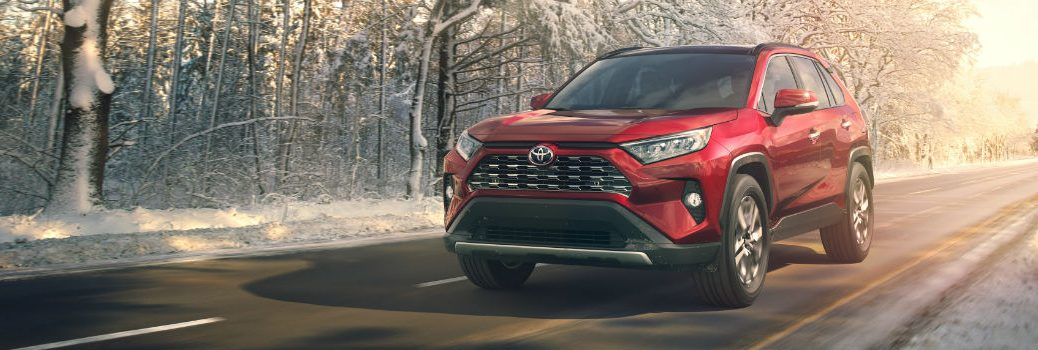 All-new 2019 Toyota RAV4 Exterior Driver Side Front