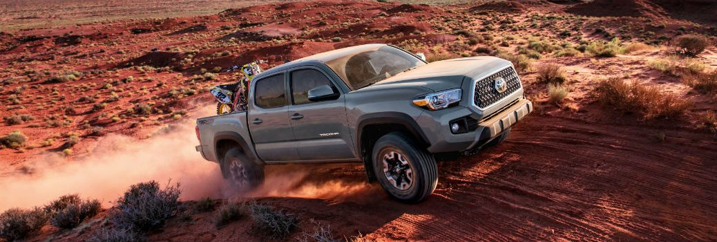 2018 Toyota Tacoma Exterior Passenger Side Front Profile Off Road