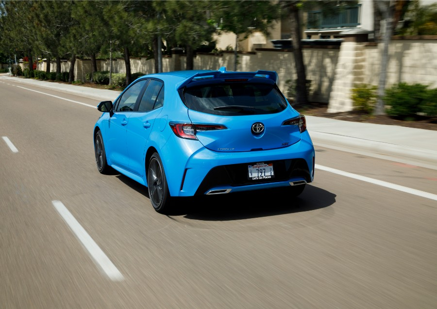 2019 Toyota Corolla Hatchback Gallery 2 Exterior Driver Side Rear