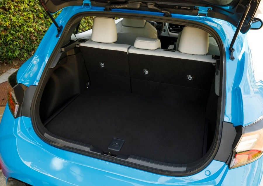 2019 Toyota Corolla Hatchback Gallery 12 Interior Rear Cargo Area