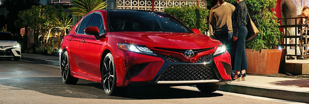 2018 Toyota Camry Exterior Passenger Side Front Angle