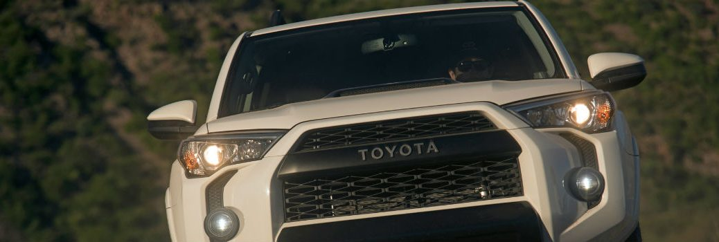 2019 Toyota 4Runner TRD Pro front exterior grille