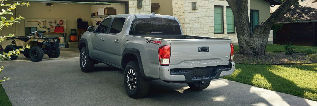 2019 Toyota Tacoma TRD Off-Road Exterior Driver Side Rear Angle