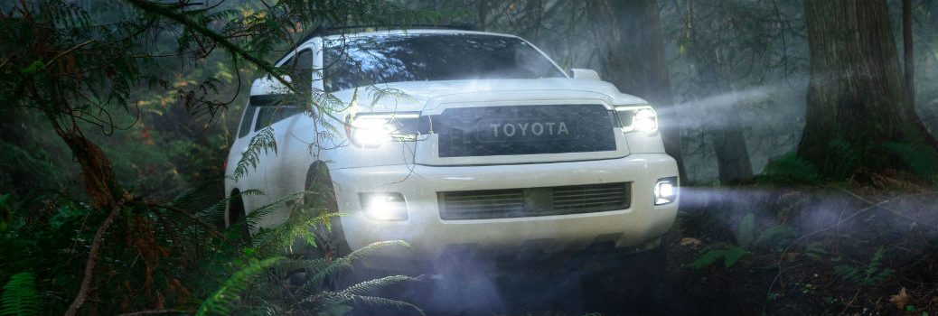 2020 Toyota Sequoia TRD Pro Series Exterior Passenger Side Front Angle