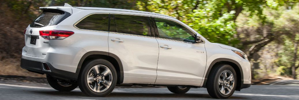 2019 Toyota Highlander Exterior Passenger Side Rear