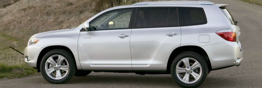 2009 Toyota Highlander Exterior Driver Side Profile