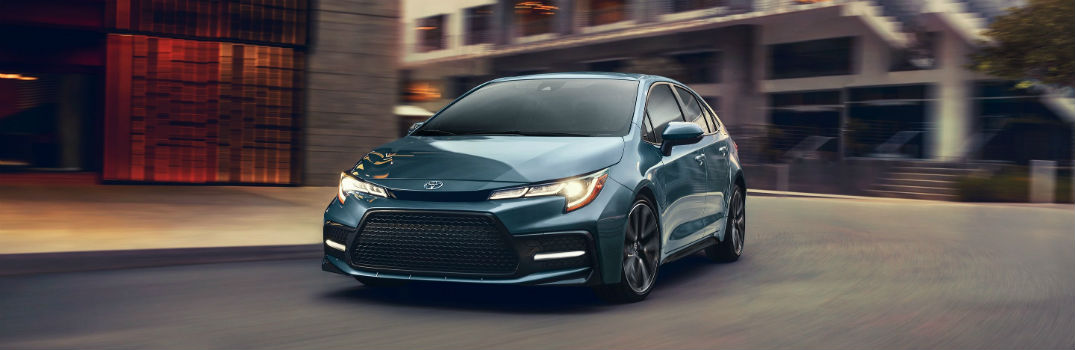 What Colors Is The 2020 Toyota Corolla Available In Hiland Toyota