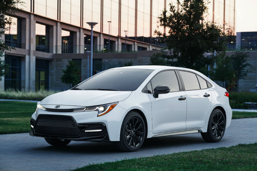 2020 Toyota Corolla Nightshade Exterior Driver Side Front Profile