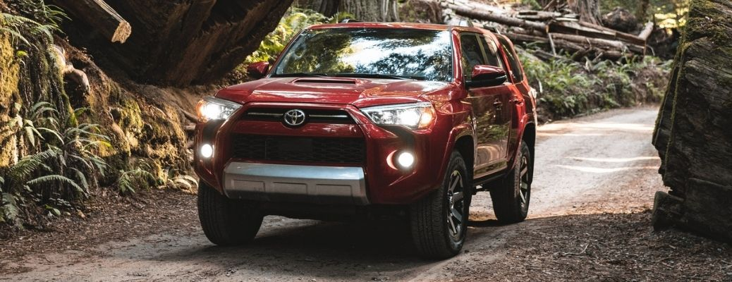 2021 Toyota 4Runner driving front view