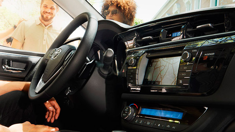Bluetooth pairing iPhone with 2015 Toyota Corolla