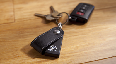 Toyota Key Finder accessory and with keys