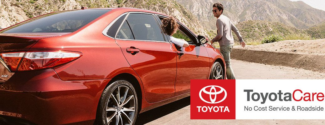 2015 Toyota Camry ToyotaCare roadsite assistance maintenance