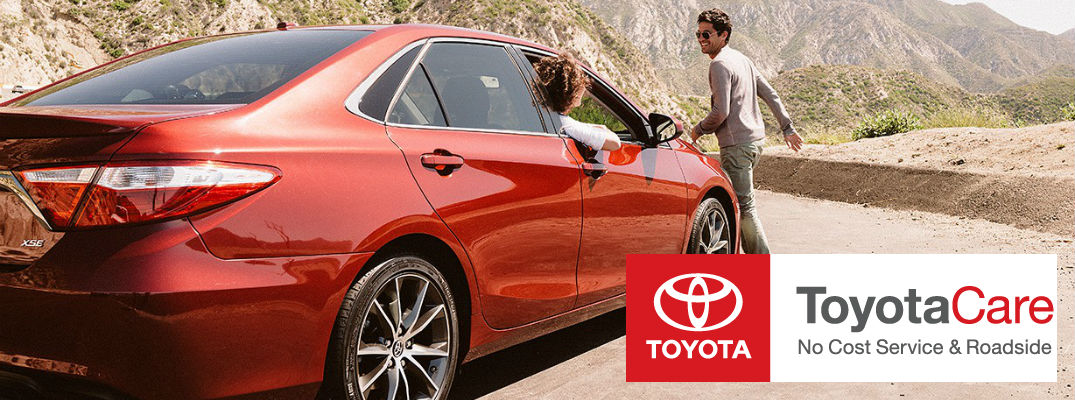 What do Toyota drivers get with ToyotaCare?