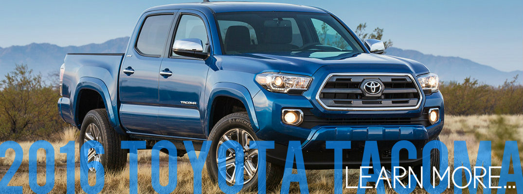 2016 Toyota Tacoma Vacaville CA learn more information