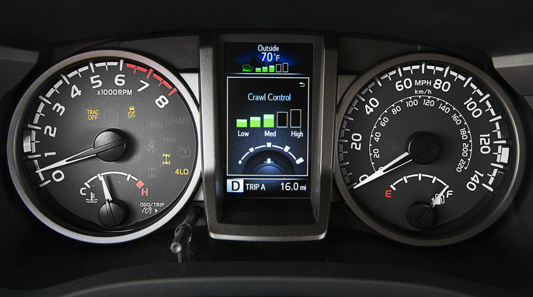2016 Toyota Tacoma Vacaville CA dashboard gauge cluster