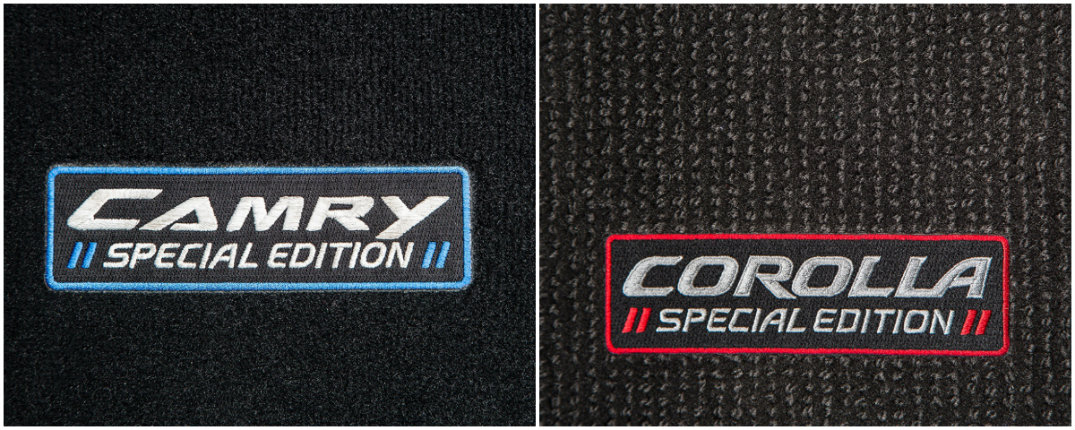 2016 Toyota Camry Toyota Corolla Special Edition floor mats