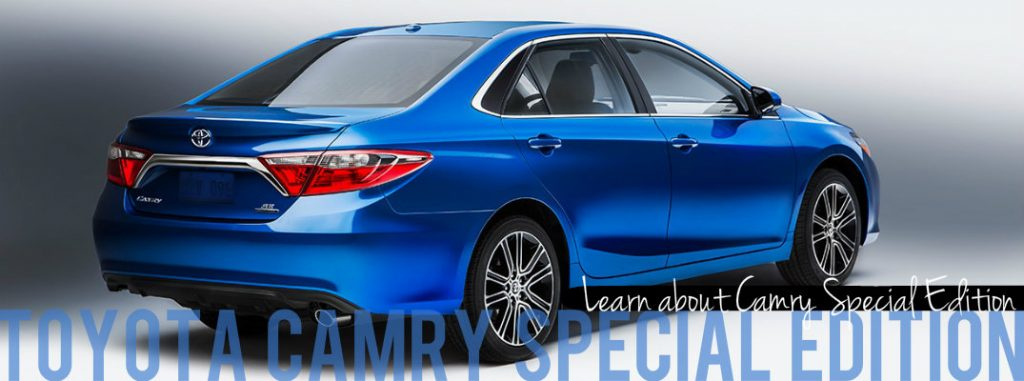 2016 Toyota Camry Special Edition Vacaville CA