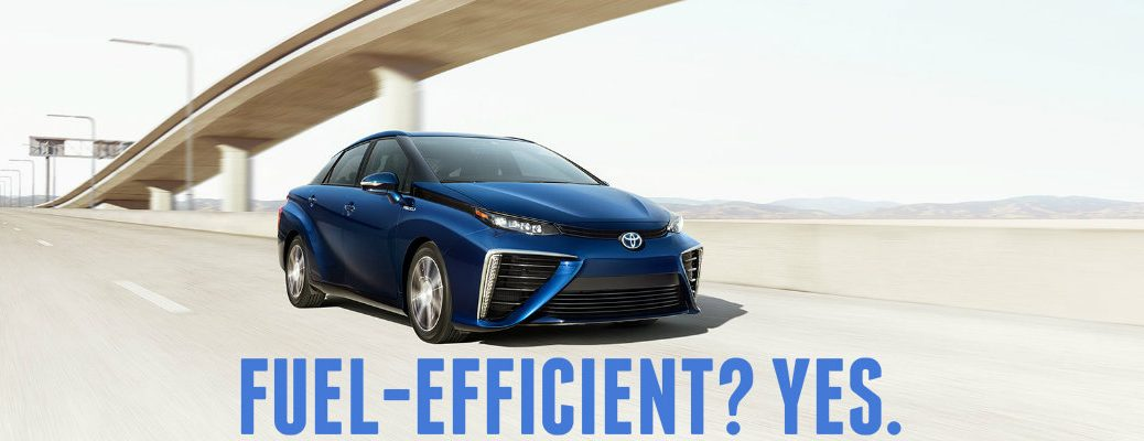 2016 Toyota Mirai EPA fuel efficiency