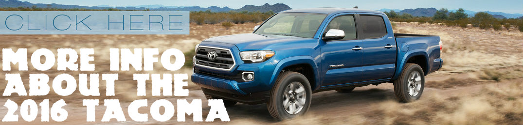 more information about 2016 Toyota Tacoma