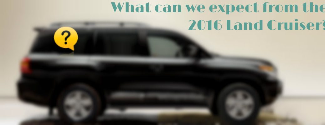 2016 Toyota Land Cruiser new features