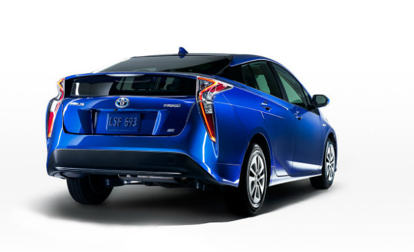 2016 Toyota Prius back end