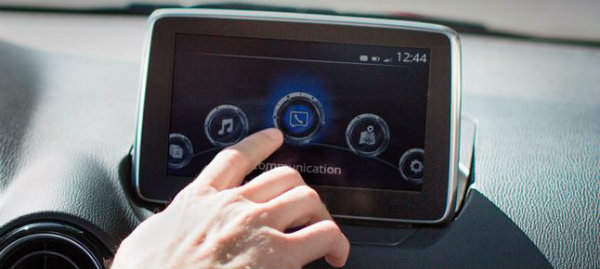 2016 Scion iA 7-inch touch screen display