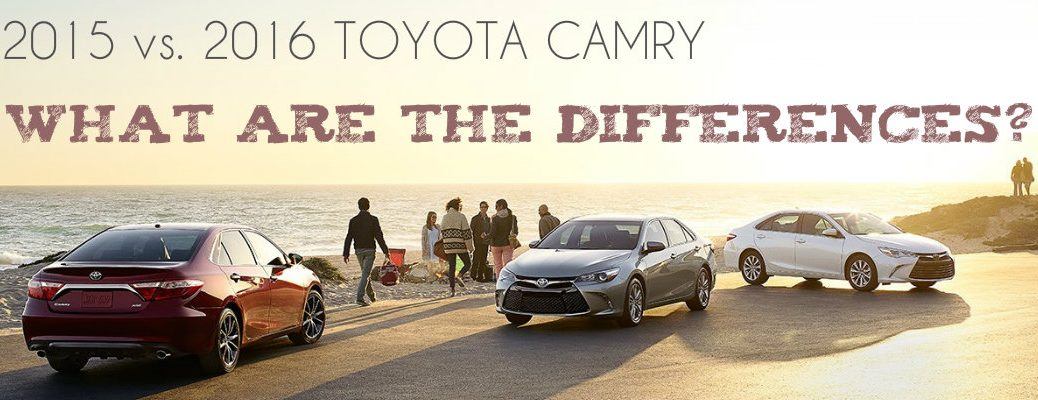 differences between the 2015 and 2016 toyota camry