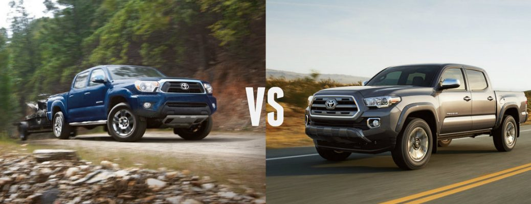 differences between 2015 vs 2016 Toyota Tacoma
