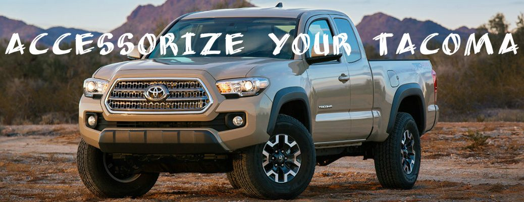 2016 Toyota Tacoma accessory packages