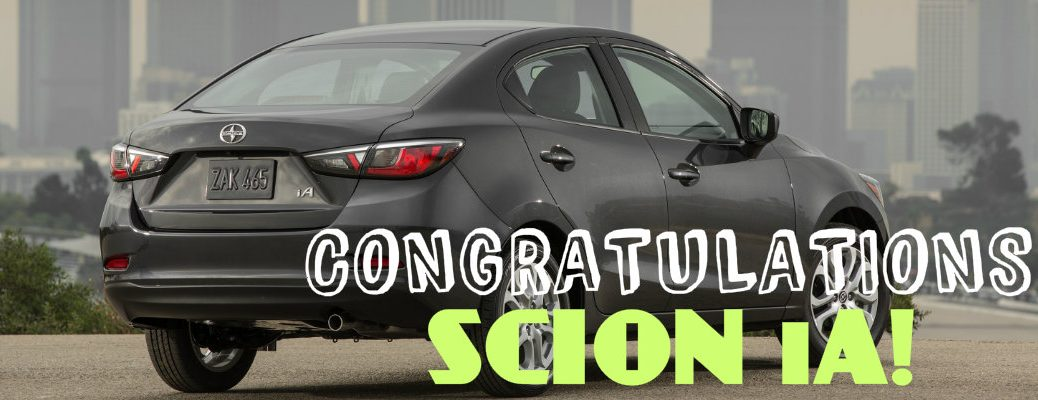Scion iA wins Consumer Guide Automotive Best Buy Award