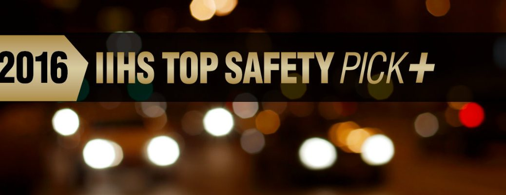 which Toyota models won 2016 IIHS Top Safety Pick Plus awards