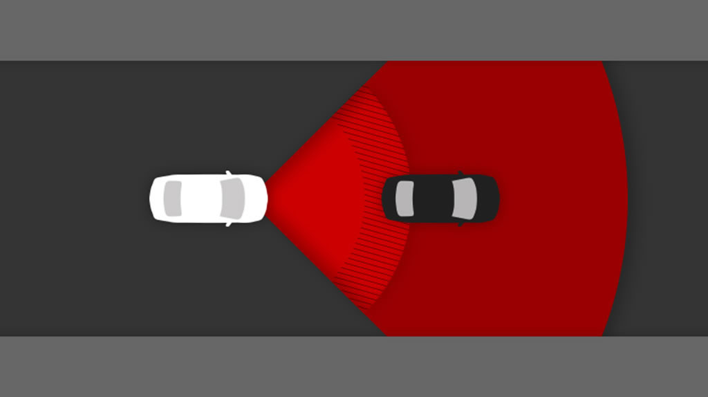 Toyota pre-collision safety system