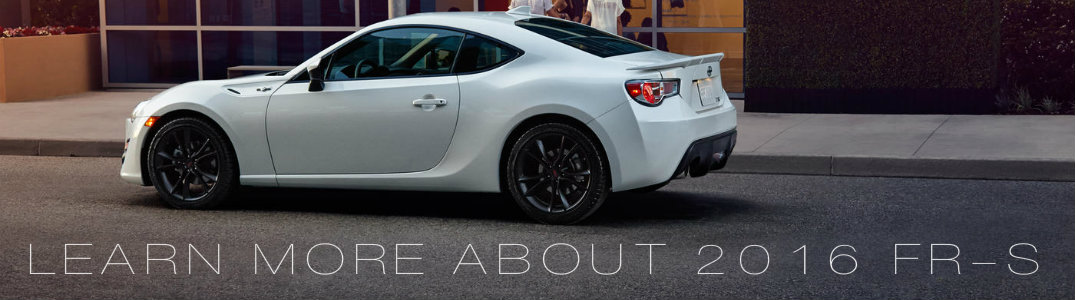 learn more about the 2016 Scion FR-S Vacaville CA