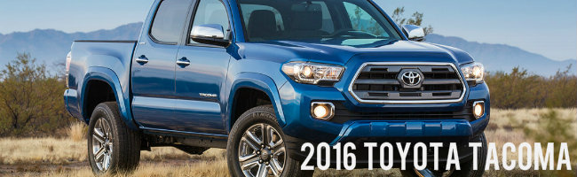 learn more about 2016 Toyota Tacoma