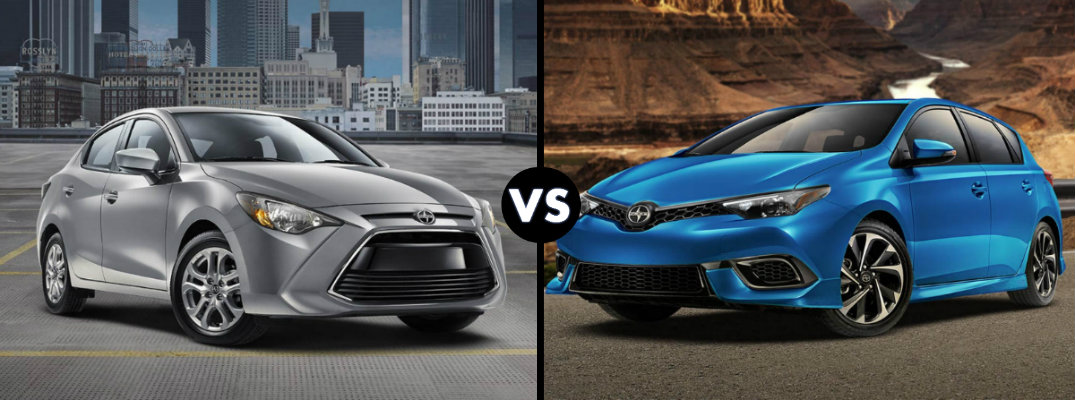 Differences between Scion iA and Scion iM