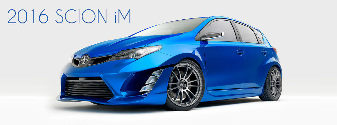 what to expect from the 2016 Scion iM