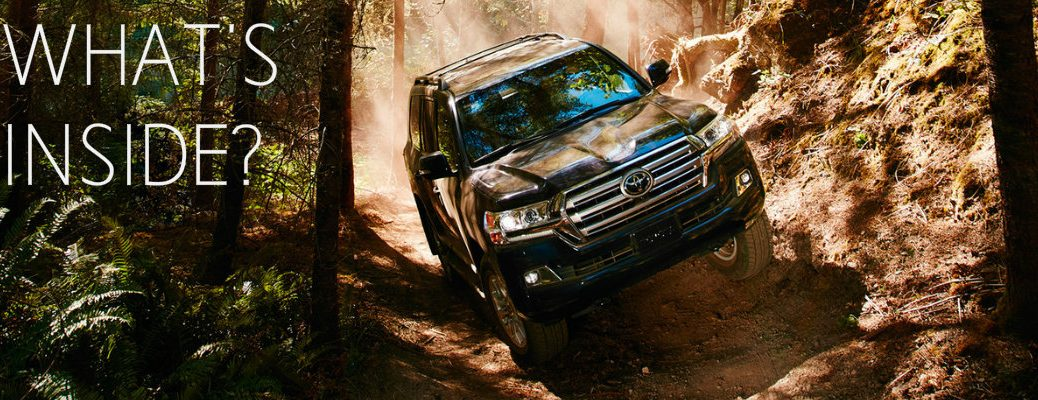 what comes in the 2016 Toyota Land Cruiser