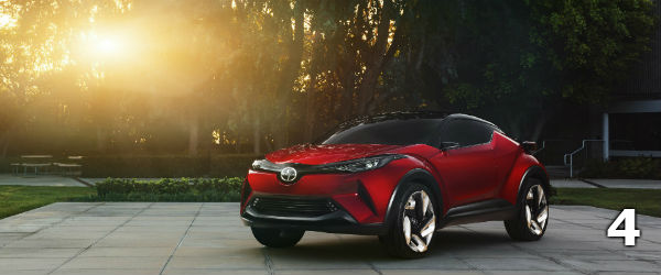 Toyota CH-R used to be Scion